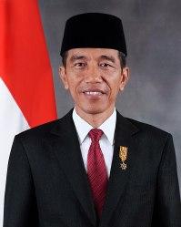 Staatsieportret Joko Widodo