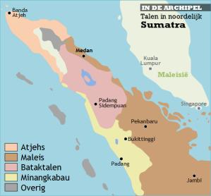 talen noordelijk Sumatra