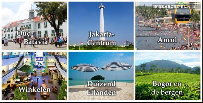 toerist Jakarta plaatje