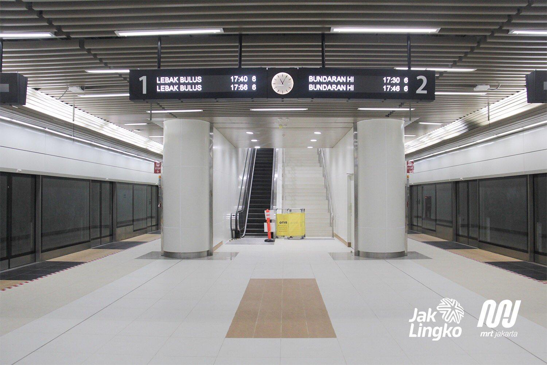 station MRT Dukuh Atas
